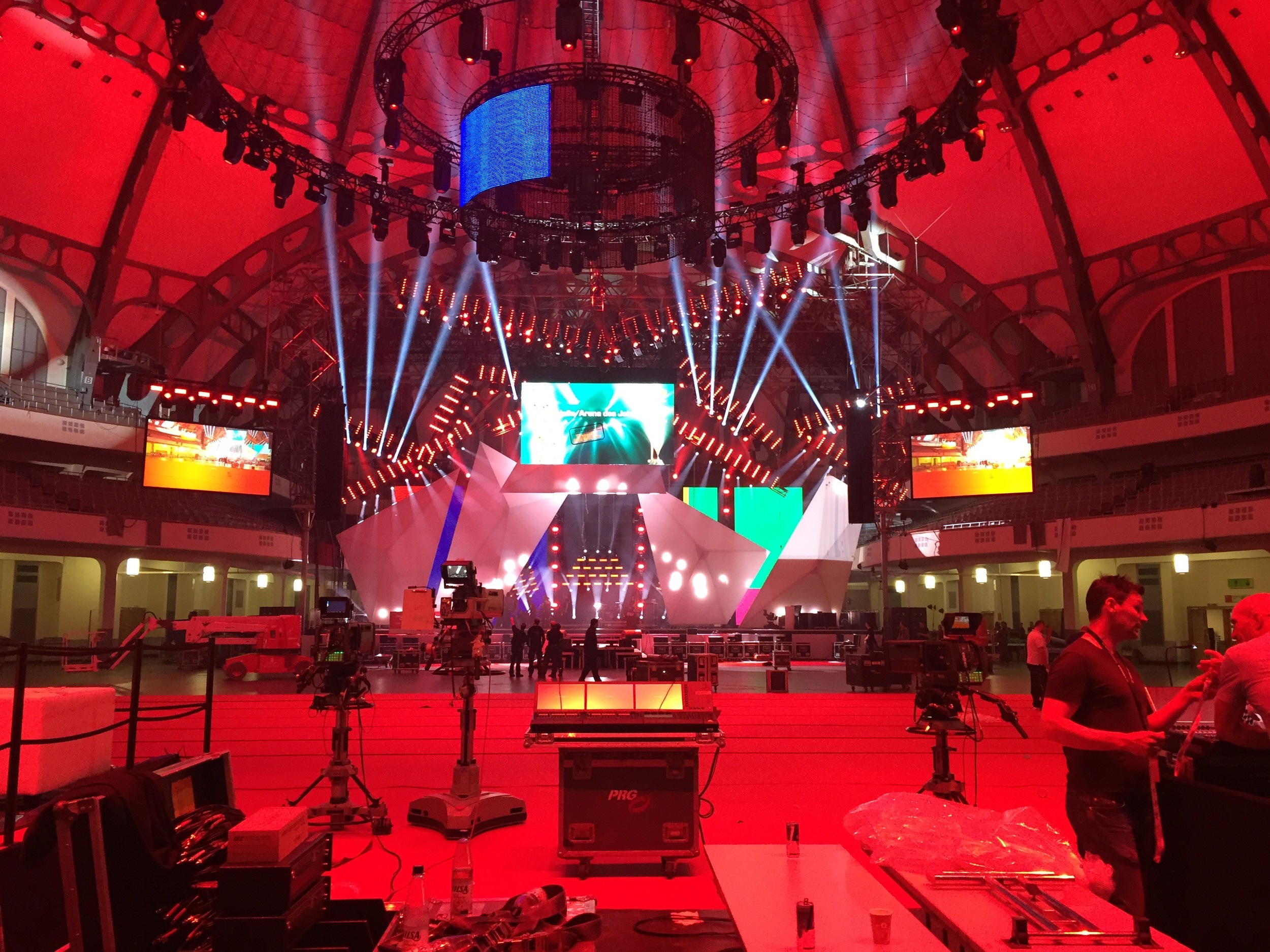Live Entertainment Award 2015 - Proben - Frankfurt ( @ public address)