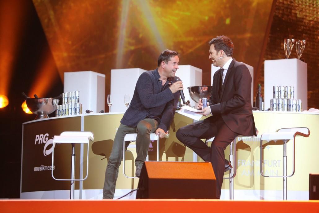 Live Entertainment Award 2015 - Talk mit Moderator Ingo Nommsen - Frankfurt ( @ public address)