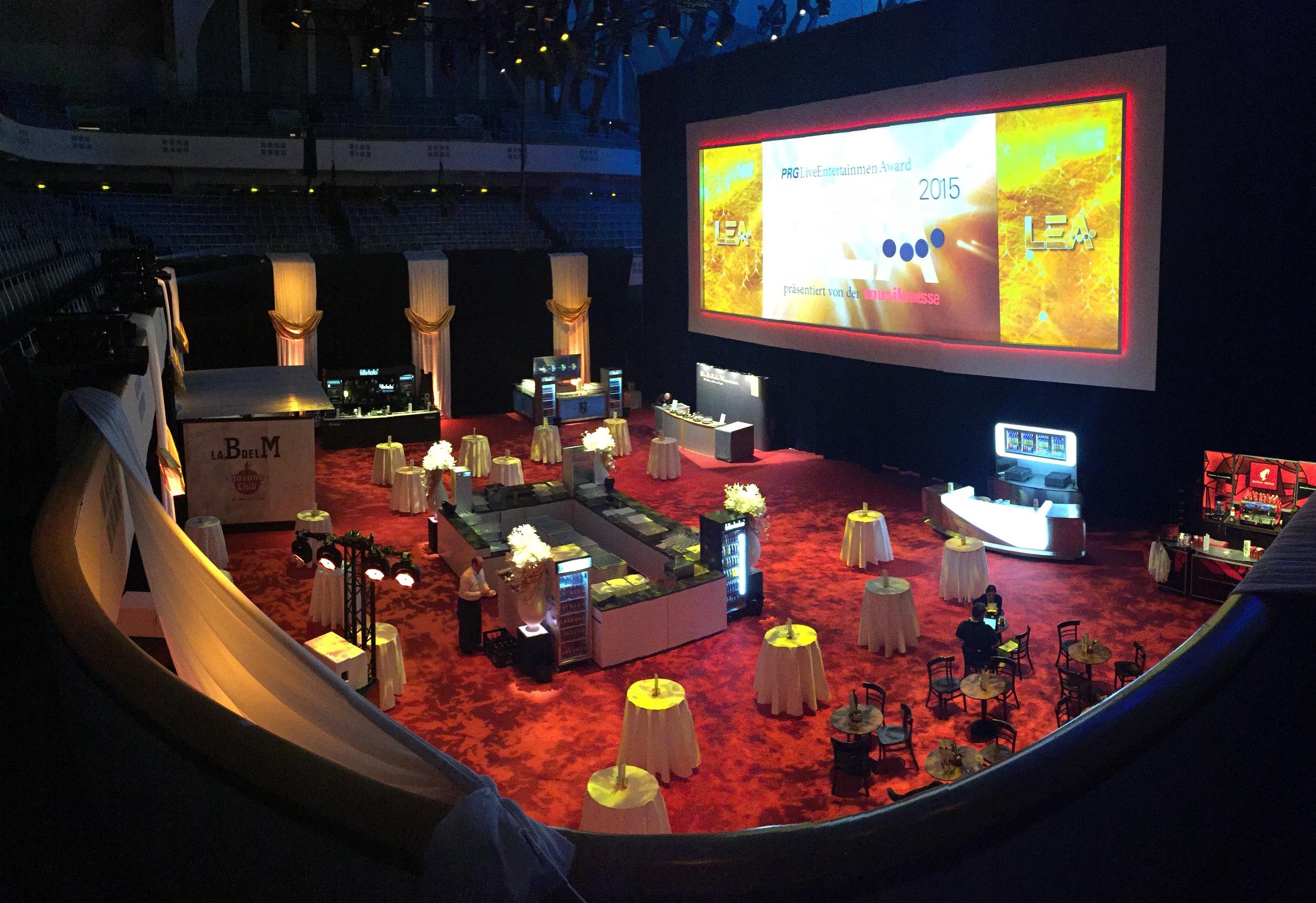 Live Entertainment Award 2015 - Frankfurt ( @ public address)