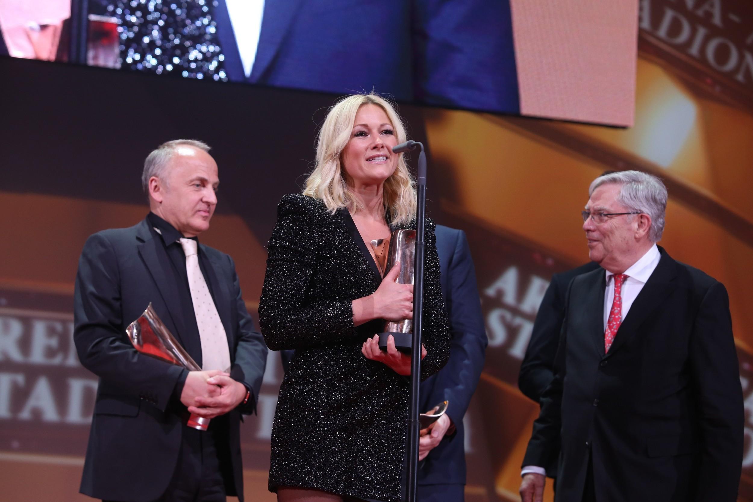 Live Entertainment Award 2016 - Arena/Stadiontournee und Veranstalter des Jahres - Helene Fischer, Uwe Kanthak ( @ public address)