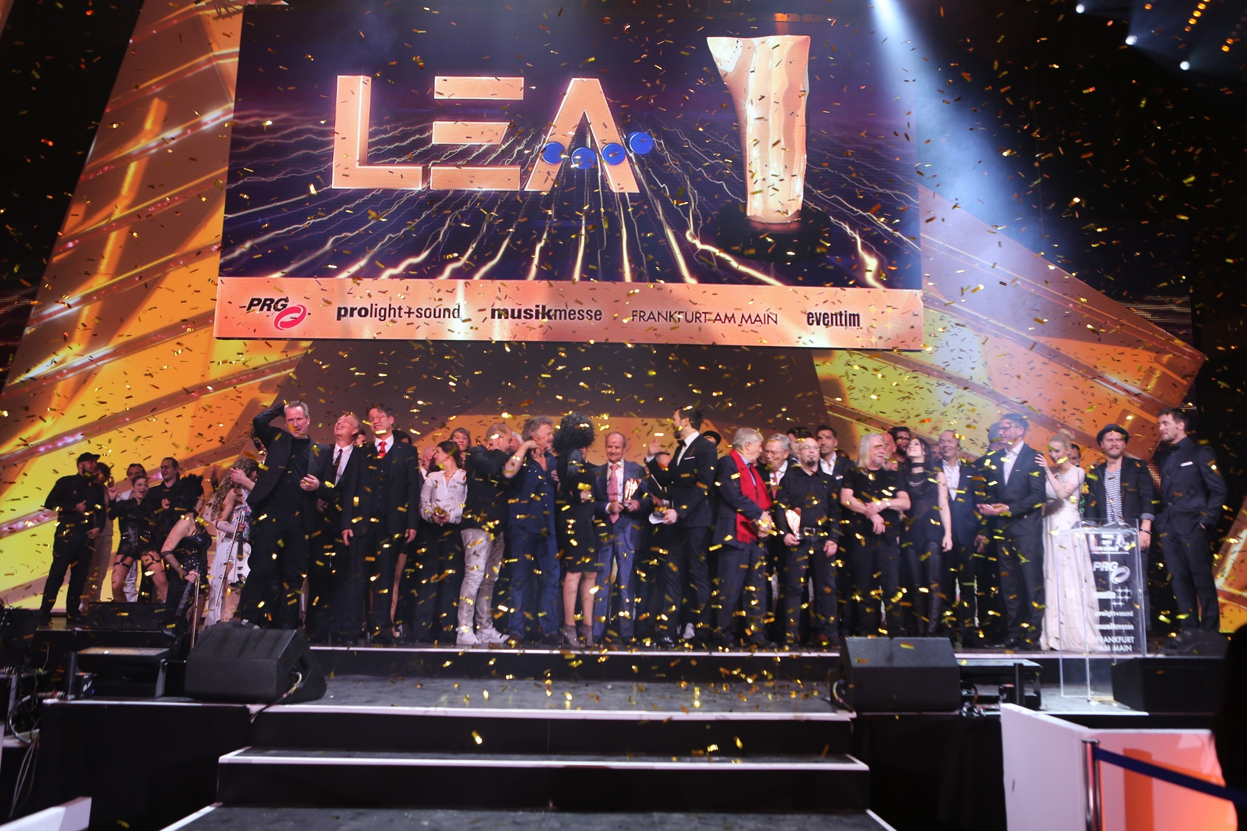 Live Entertainment Award 2016 - Abschlussbild aller Gewinner ( @ public address)