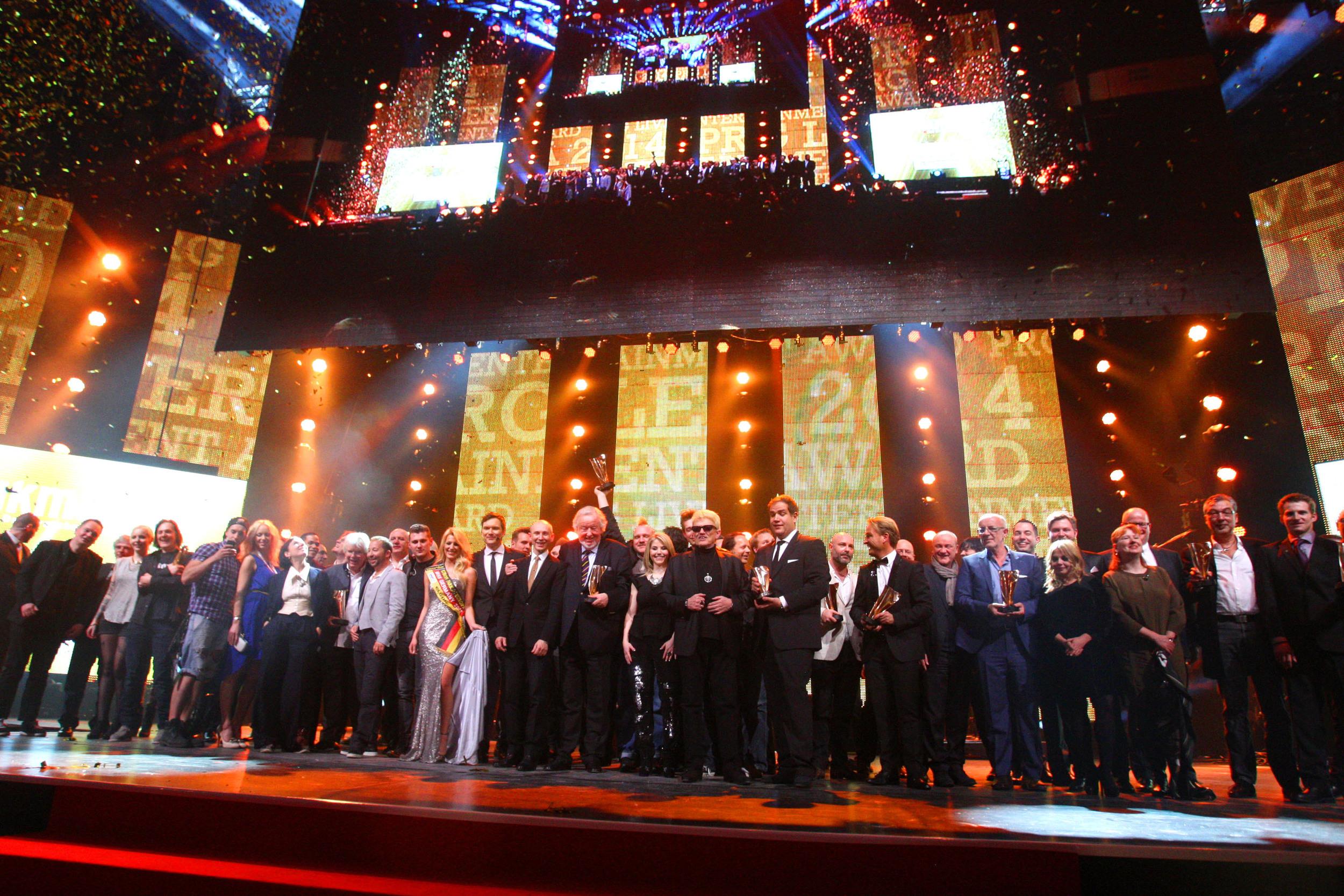 Live Entertainment Award 2014 - Finale - Frankfurt ( @ public address)
