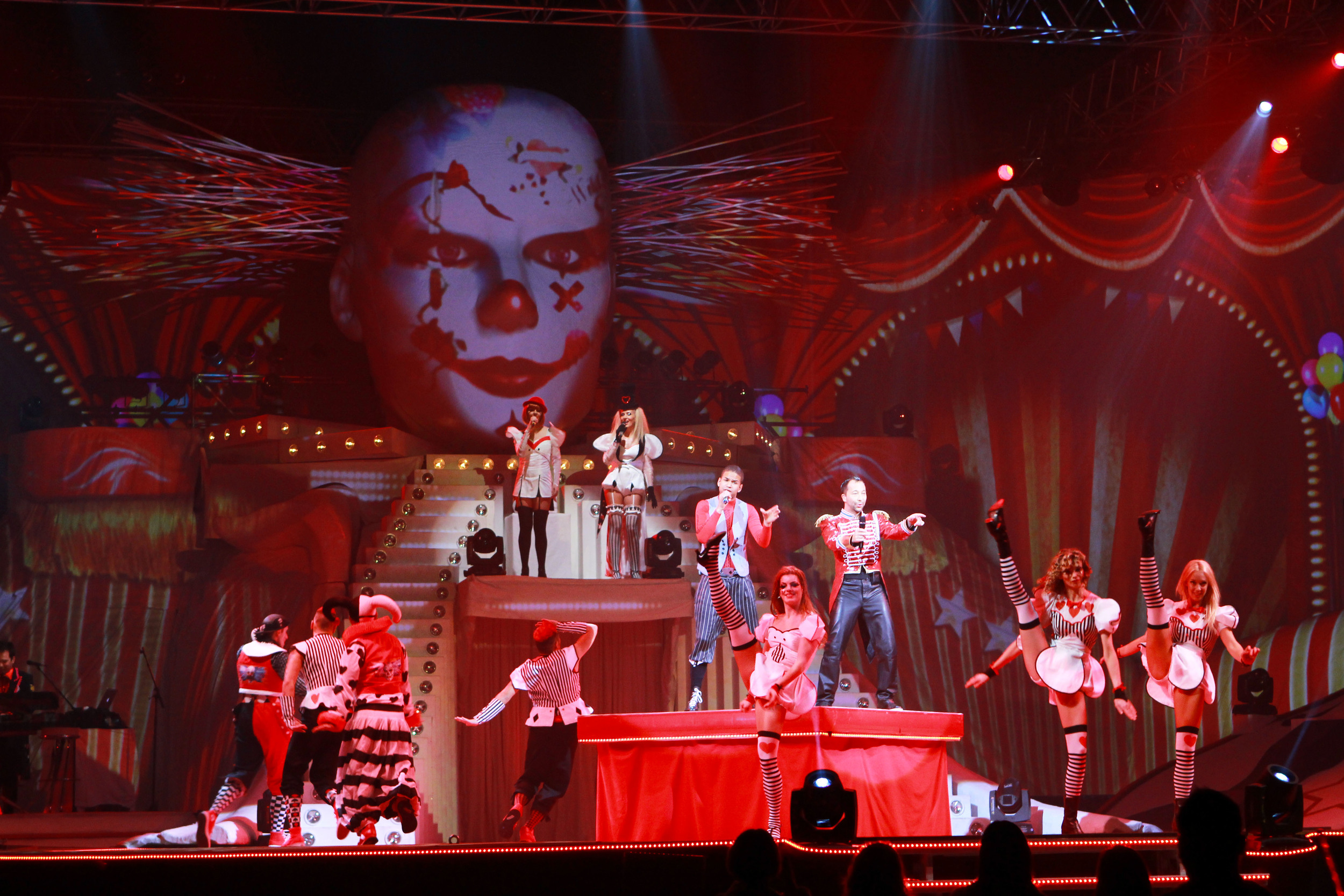 Live Entertainment Award 2014 - Show Act DJ Bobo - Frankfurt ( @ public address)