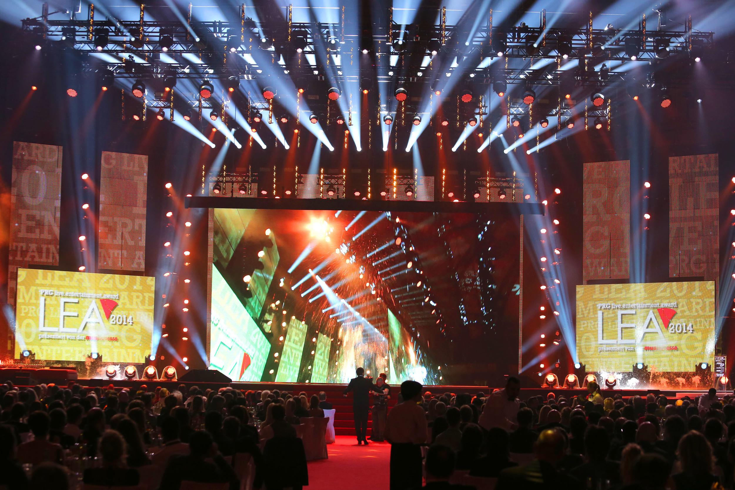 Live Entertainment Award 2014 - Frankfurt ( @ public address)