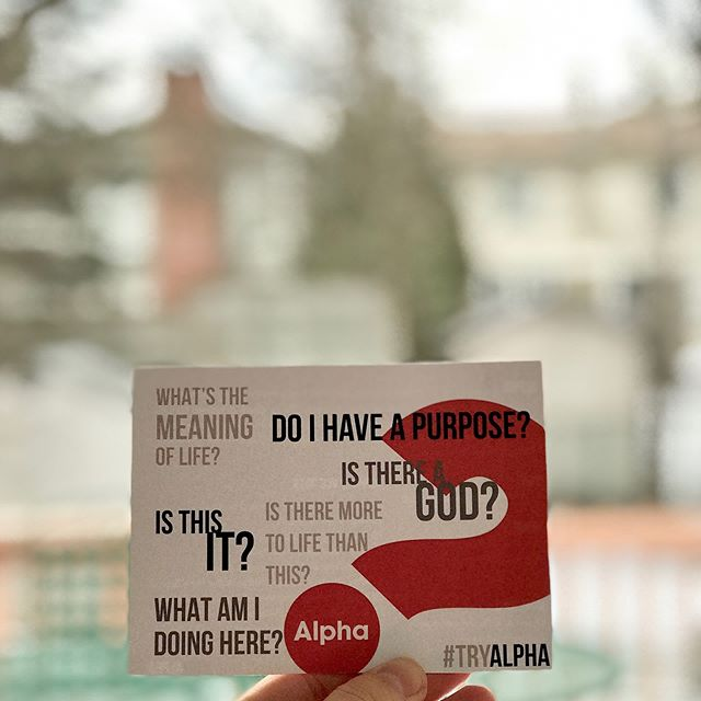❓Who invited you to discover your faith in Christ?  Alpha is a series of 10 interactive sessions that freely explore the basics of the Christian faith. The talks are designed to encourage conversation and explore the meaning of life in a friendly, open and informal environment. Alpha is for anyone who's curious. We're hosting the Alpha program, starting April 9. To find out more and to register, visit link in bio. #tryalpha