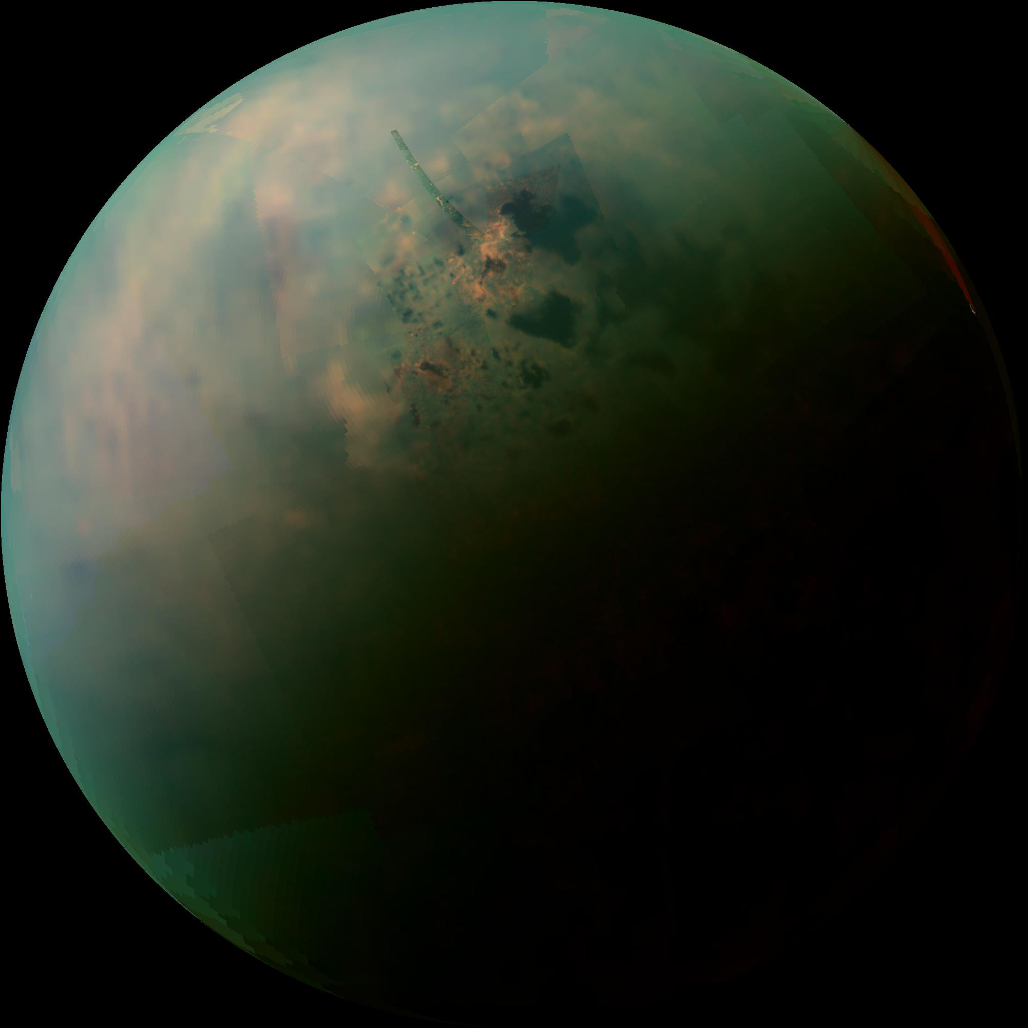 Titan's Northern Lakes