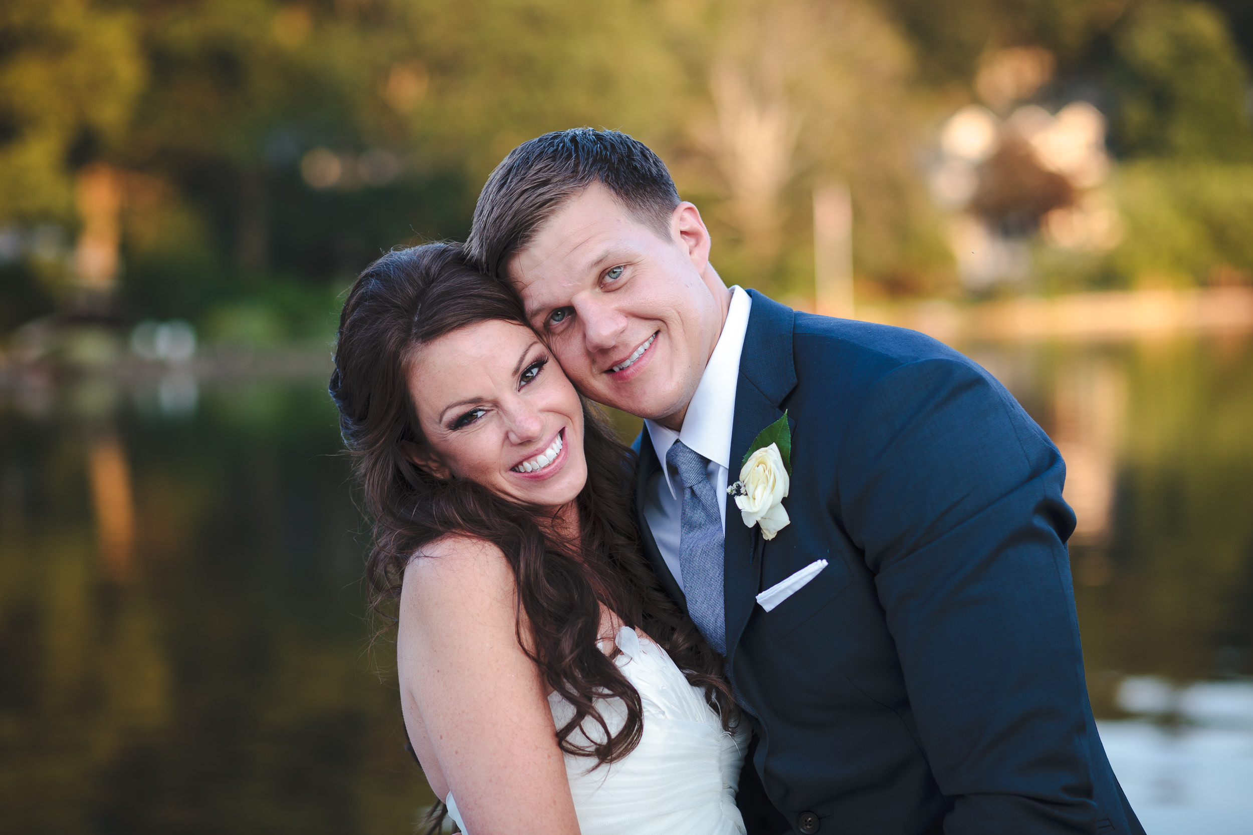 wedding portrait, mountain lakes club, nj