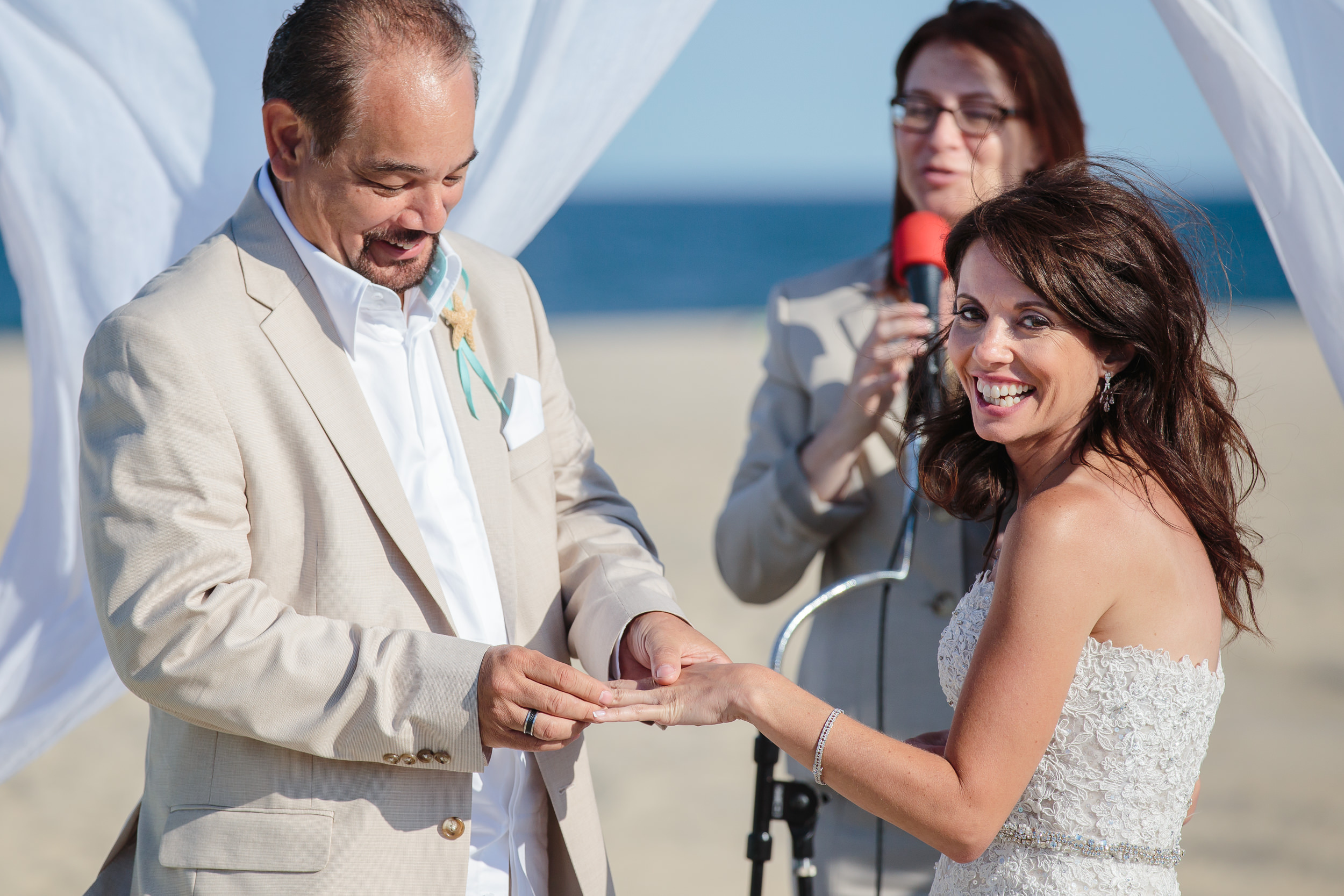wedding ceremony point pleasant beach boardwalk nj