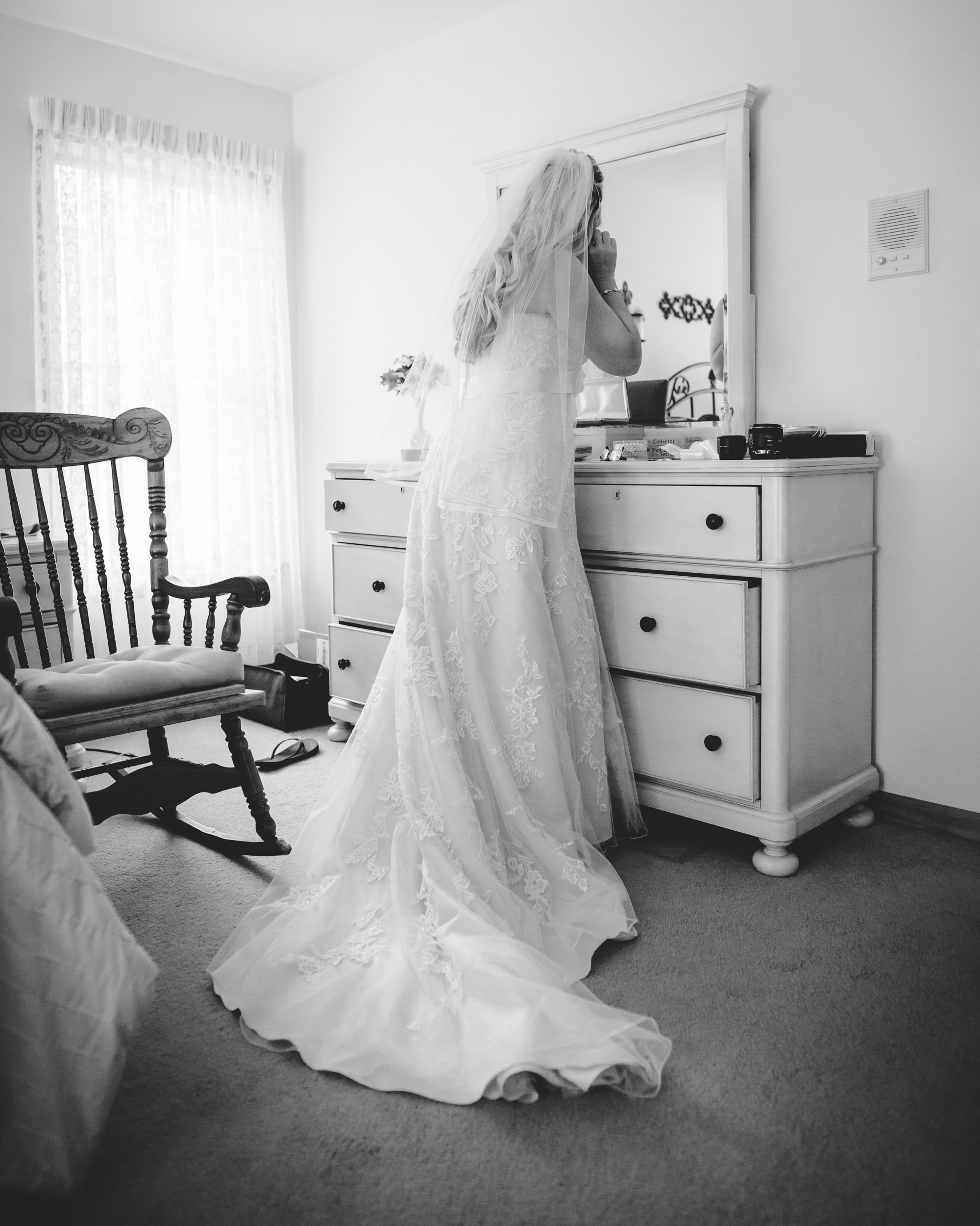 wedding bride preparation