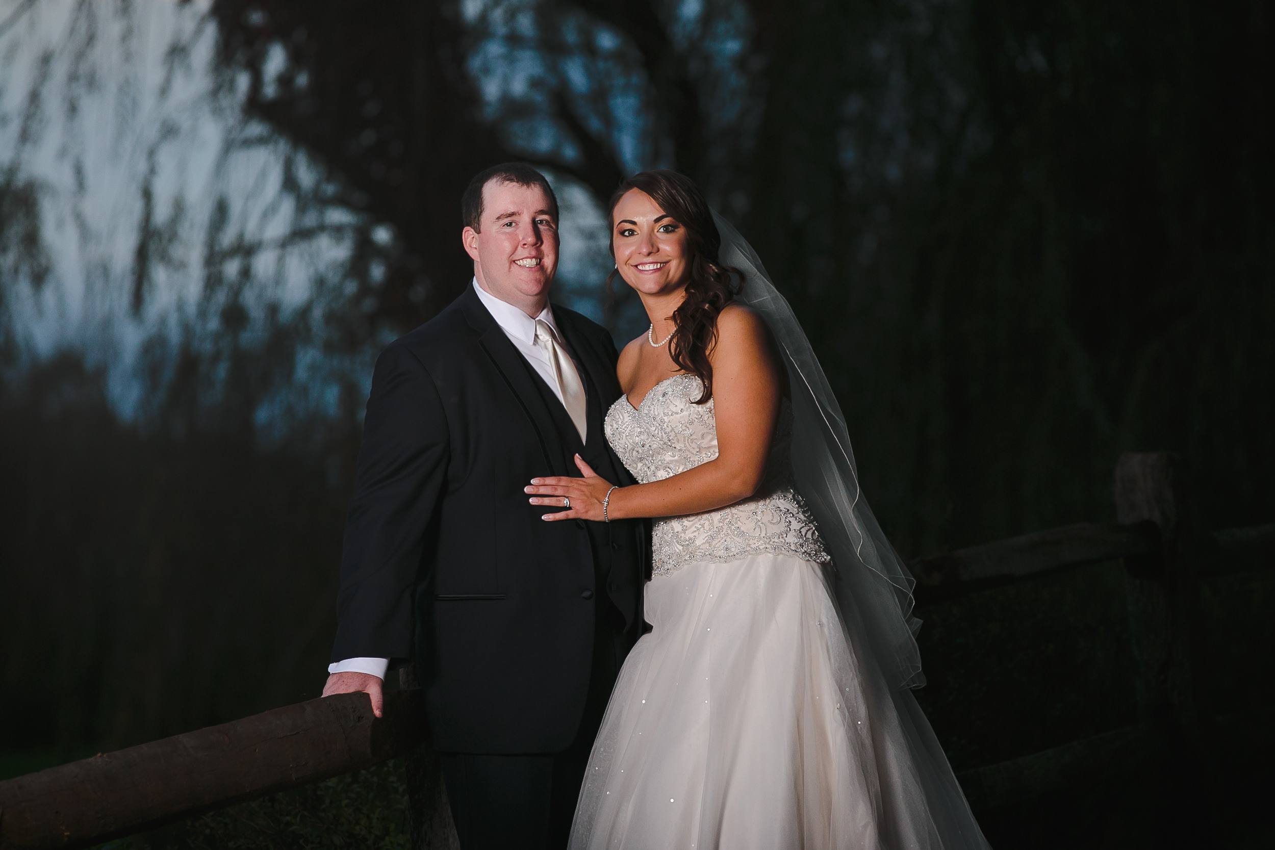 wedding portrait bride groom manor house at commonwealth horsham pa