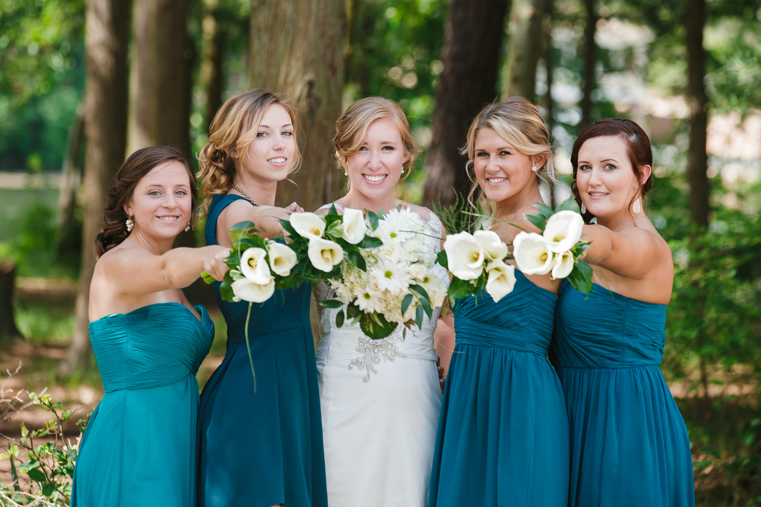 wedding bridal party portrait america's keswick whiting nj