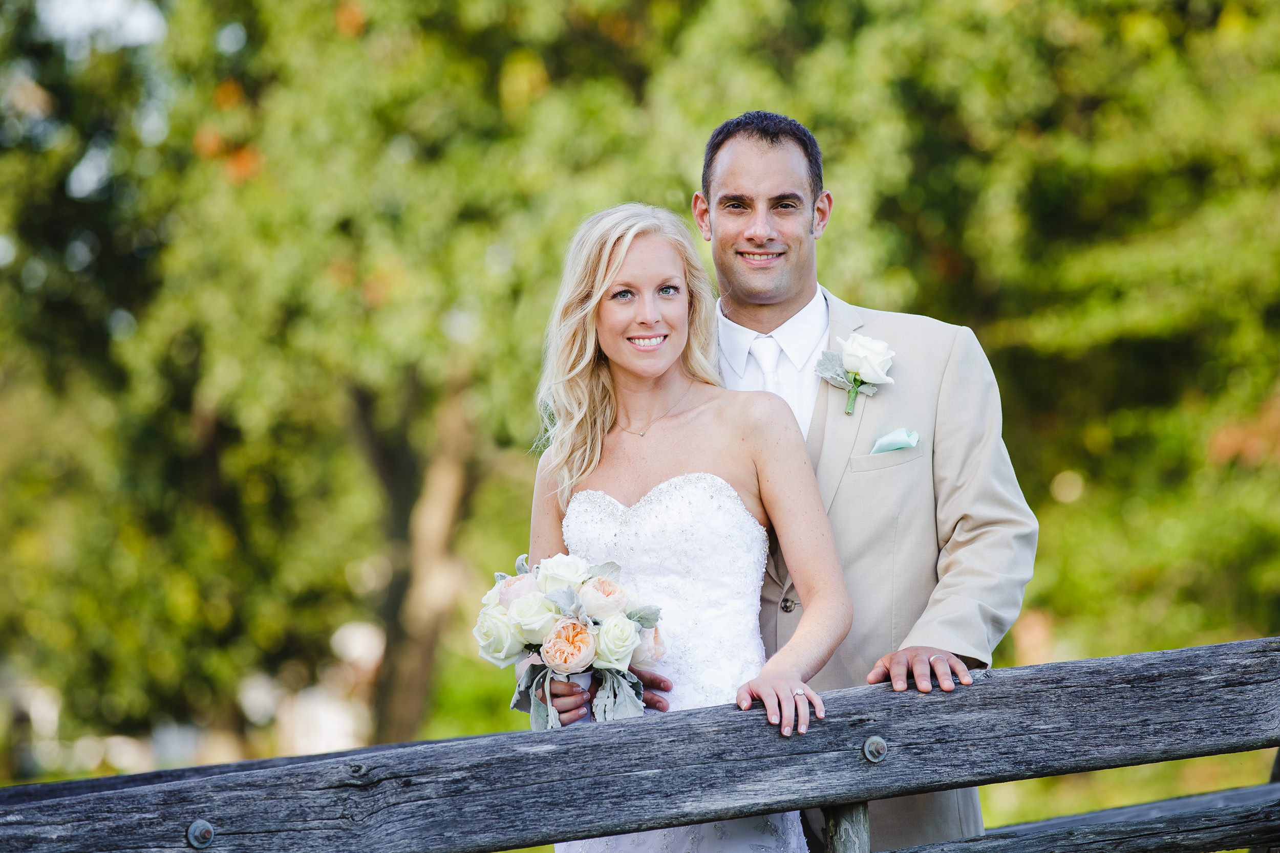 wedding portrait, divine park, spring lake, nj