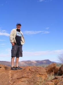In the outback at Alice Springs