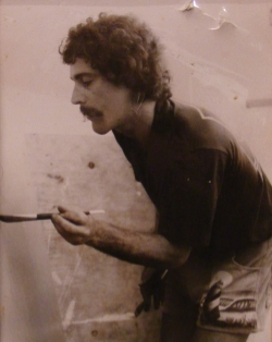 Early years at VCU in the Painting and Printmaking Department