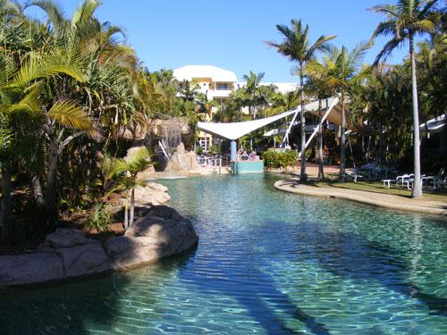 Breakfree Diamnond Beach Resort in Surfers Paradise.