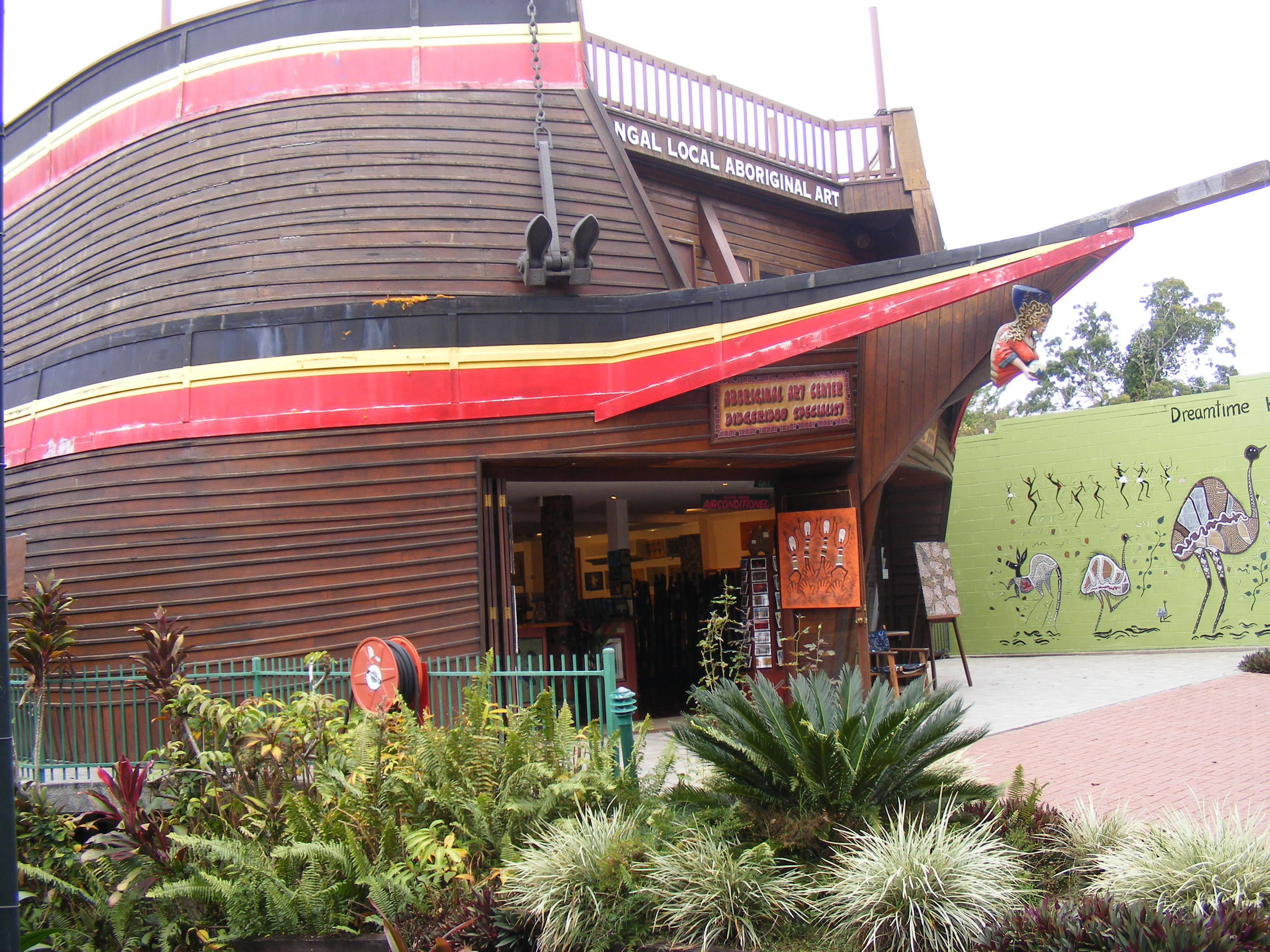 Didgeridoo shop in Kuranda