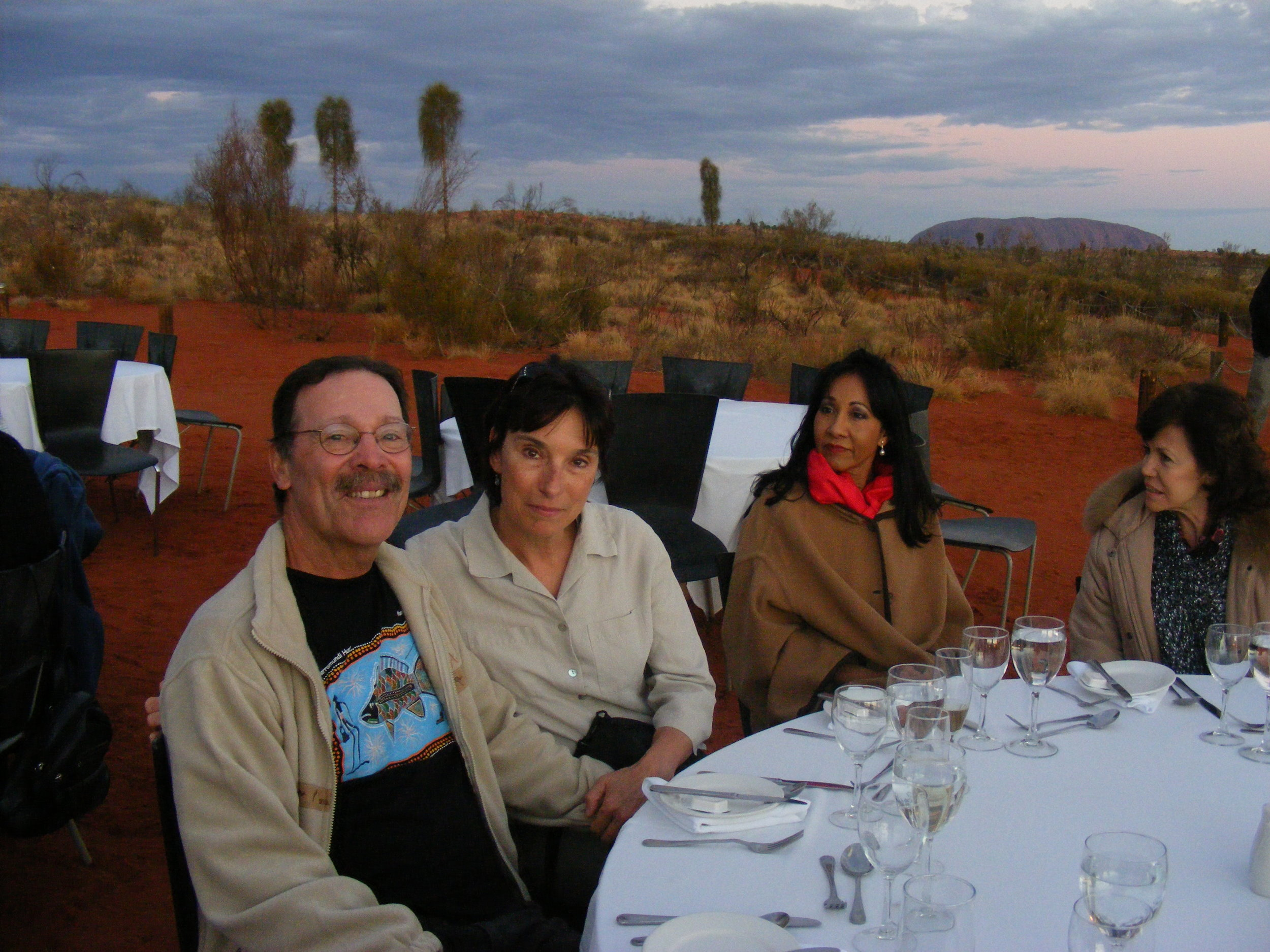 As good as it gets, wine, emu, crocodile, grubs, and a host of local fare.