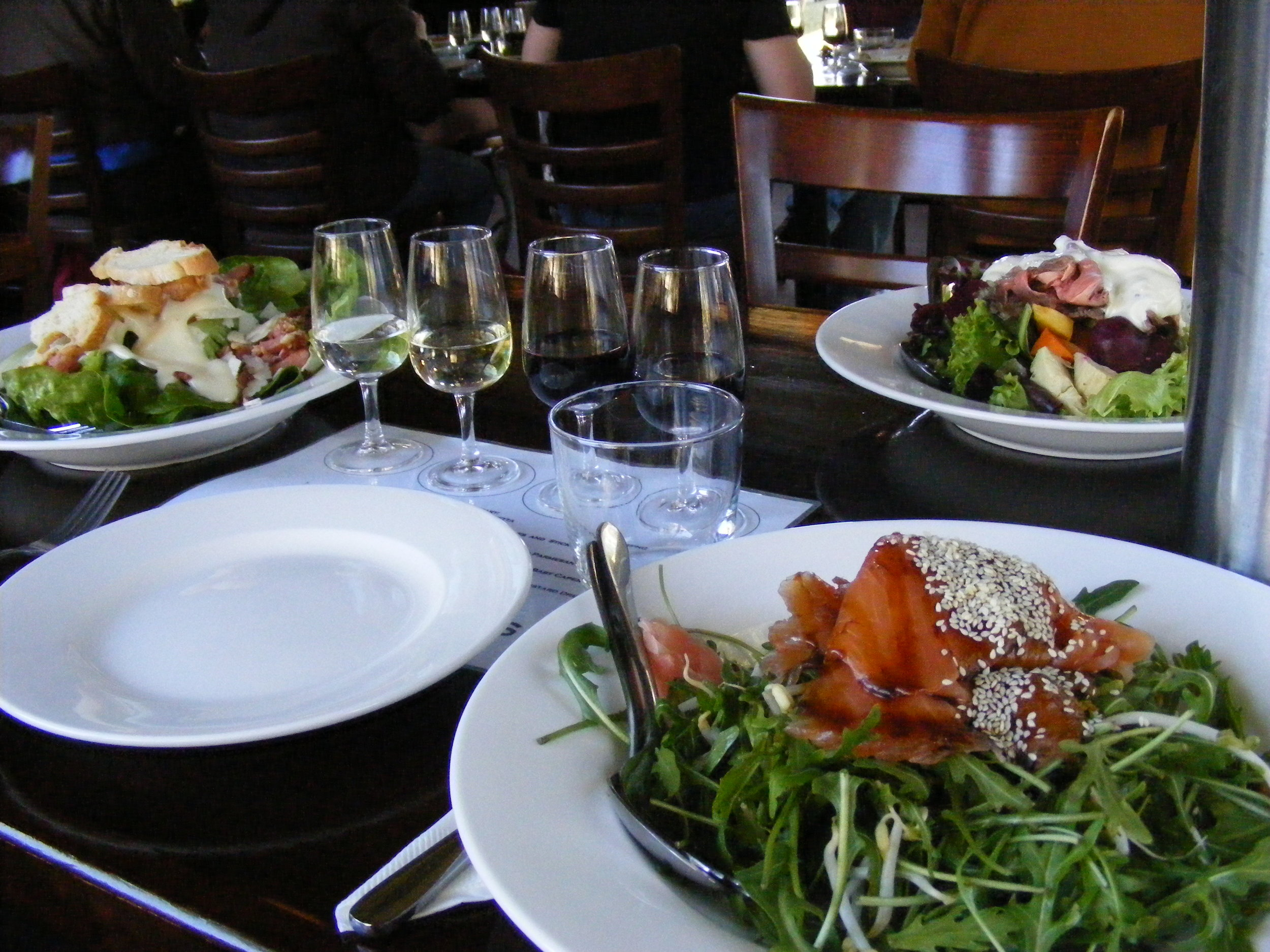 Dinner paired with local wines