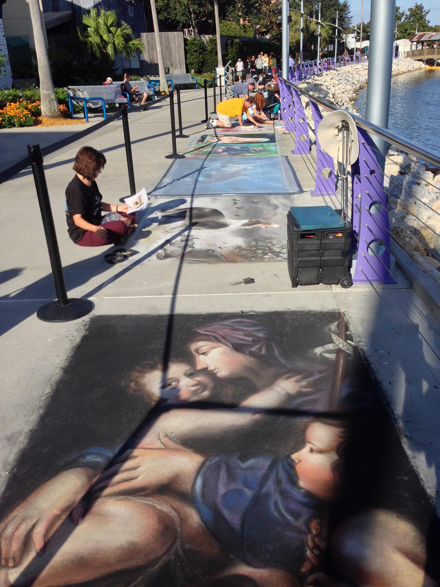 Chalk Art contest