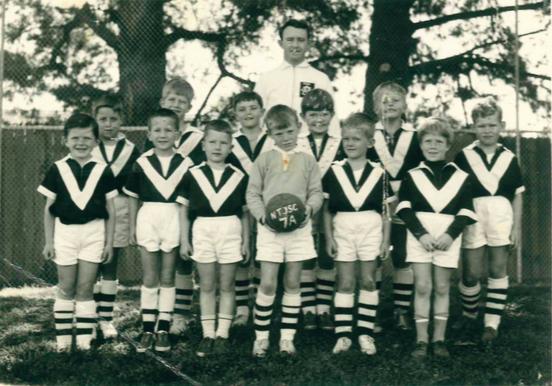 North Turramurra Junior Soccer Club Under 7's (circa 1964)