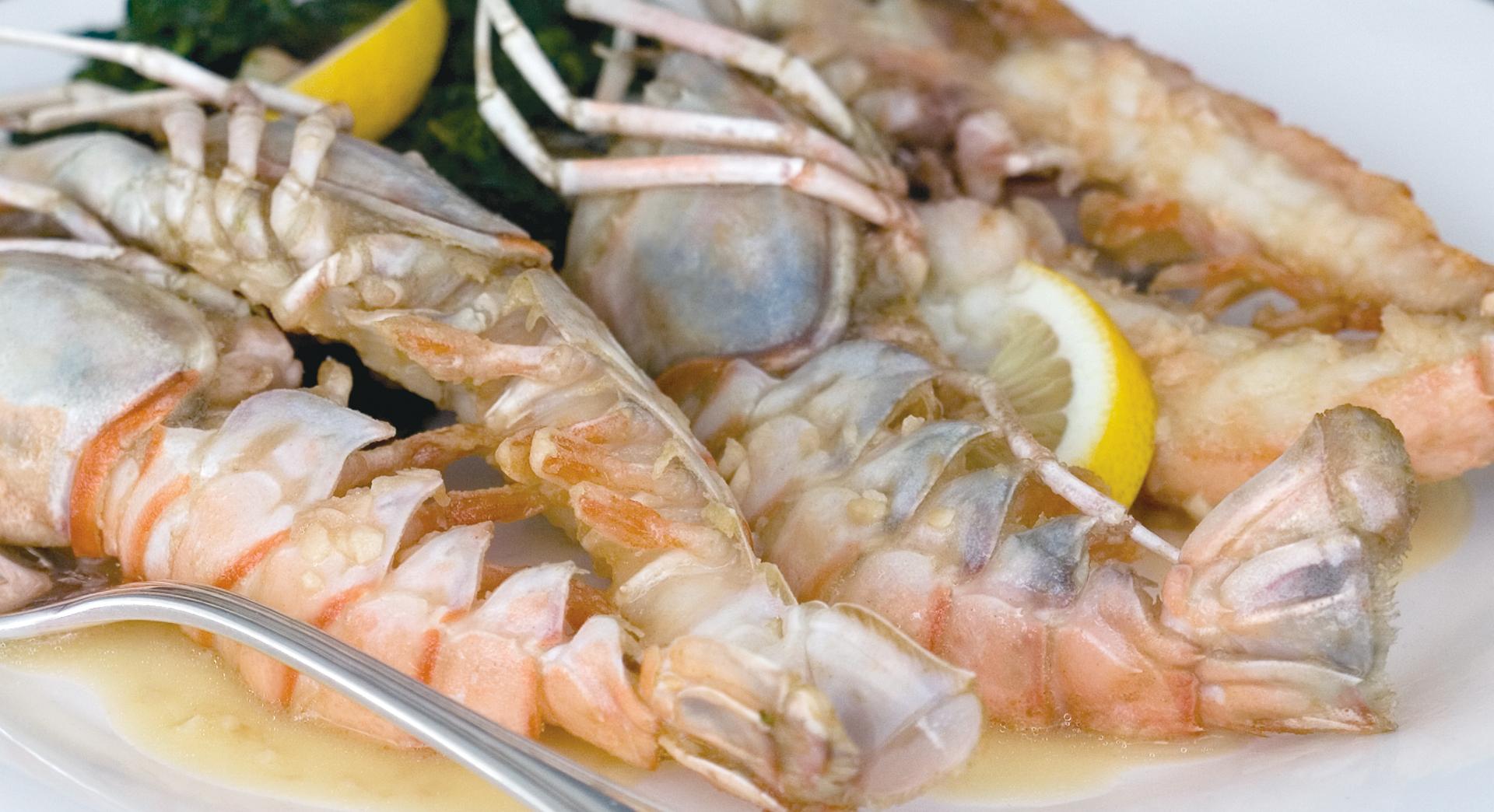 shrimp and lemon