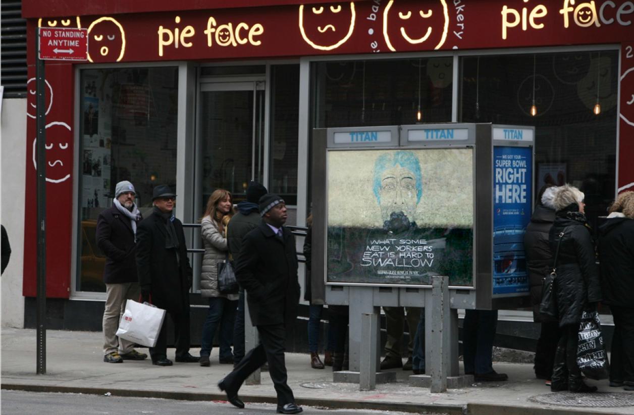 Sidewalk Phone Kiosks and Bus Shelters