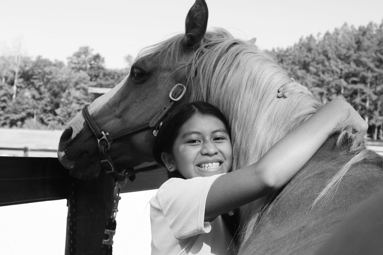 A barn will help inspire hope - At Bright Side Youth Ranch, our mission is to inspire the next generation toward hope. A physical barn will help us:• Provide a central gathering place for families when they arrive• Create better safety and security for the kids and horses• Offer better care for the horses• Provide a more appropriate place to store tack and equipment