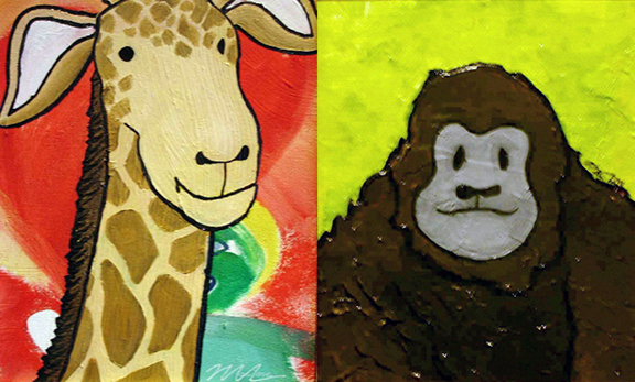 ARTxLOVE_stuffedanimals_giraffe_gorilla.jpg