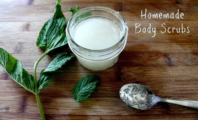 Homemade Body Scrub Recipes