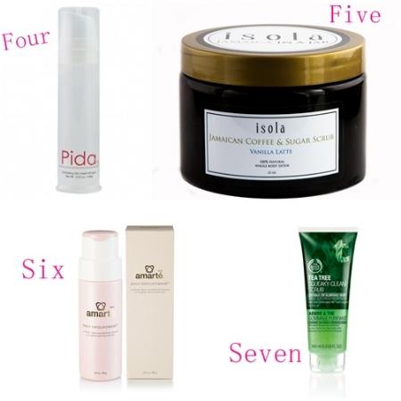 Skincare Best Exfoliators