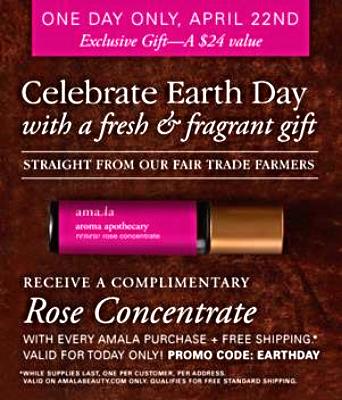 Earth Day Amala Beauty