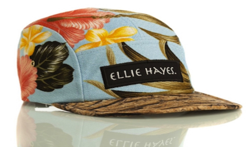 Elle Creed Hawaiian Wood Hat