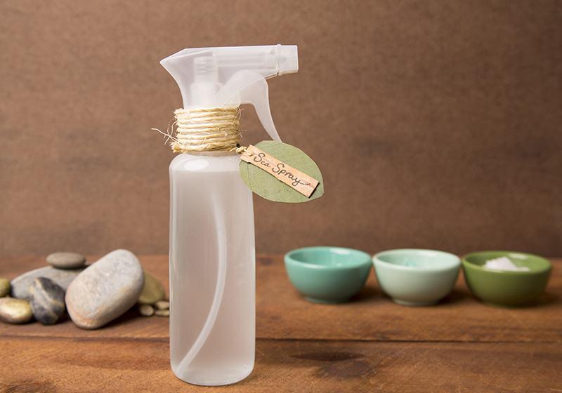 DIY Sea Salt Hair Spray