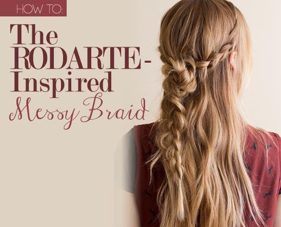 Messy Braid Photo hair Tutorial