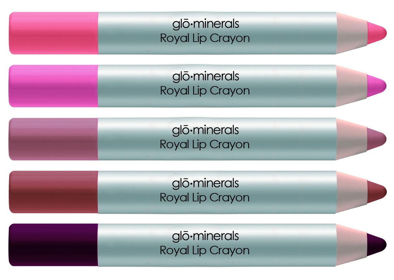 Royal Lip Crayon 2011 - all five.jpg