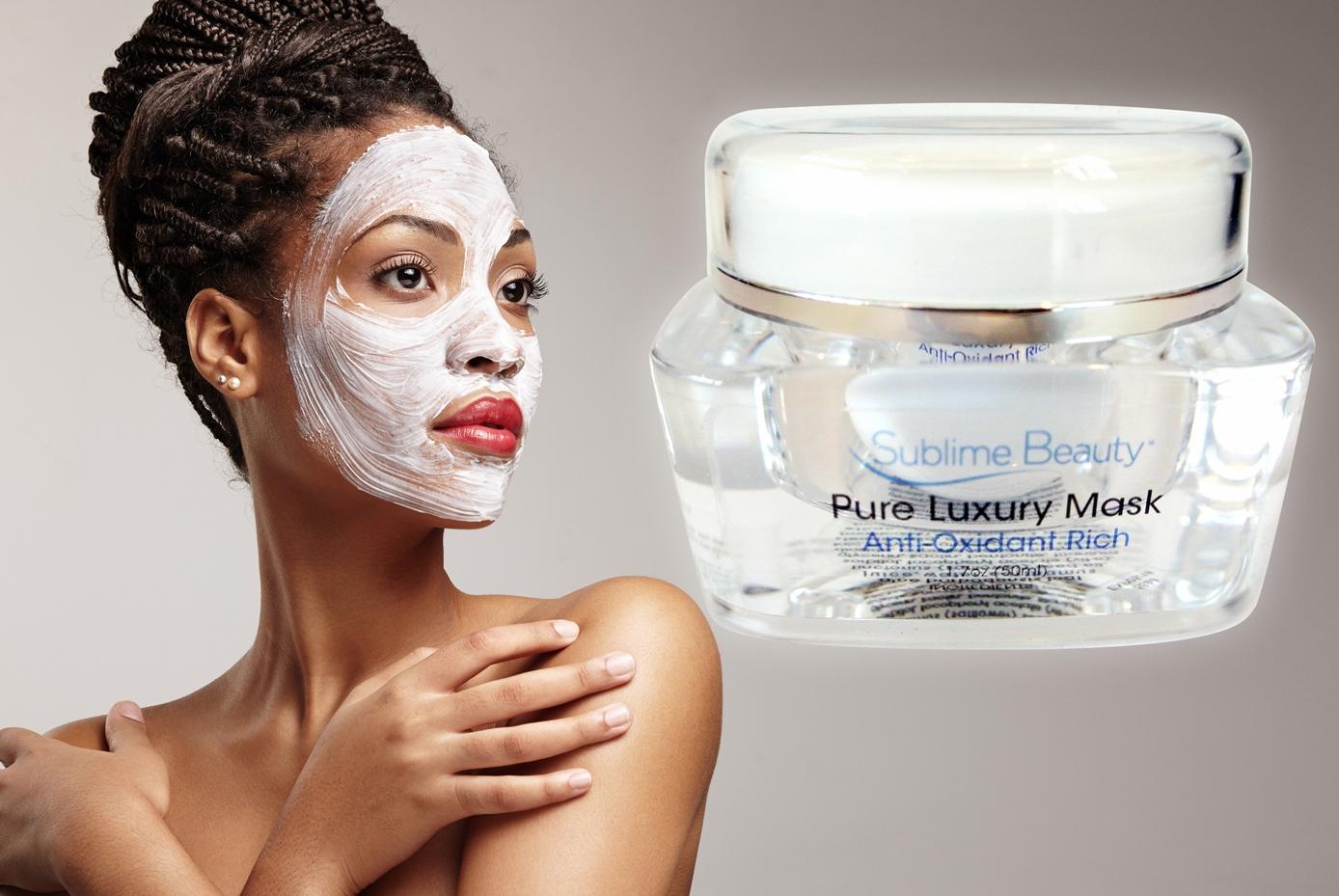 collagen mask and black Sublime Model sml.jpg