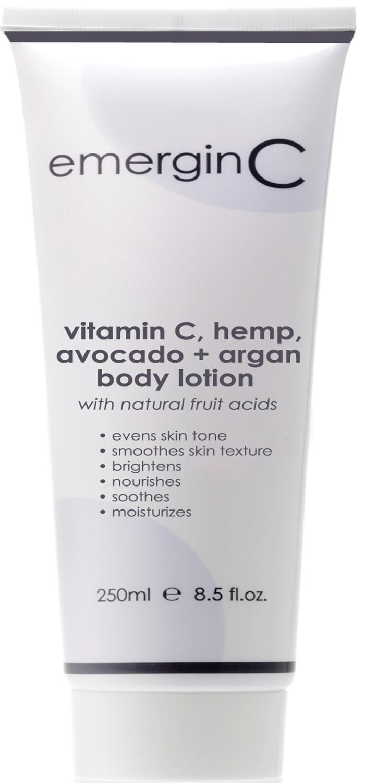 vitamin C, hemp, avocado + argan body lotion.jpg