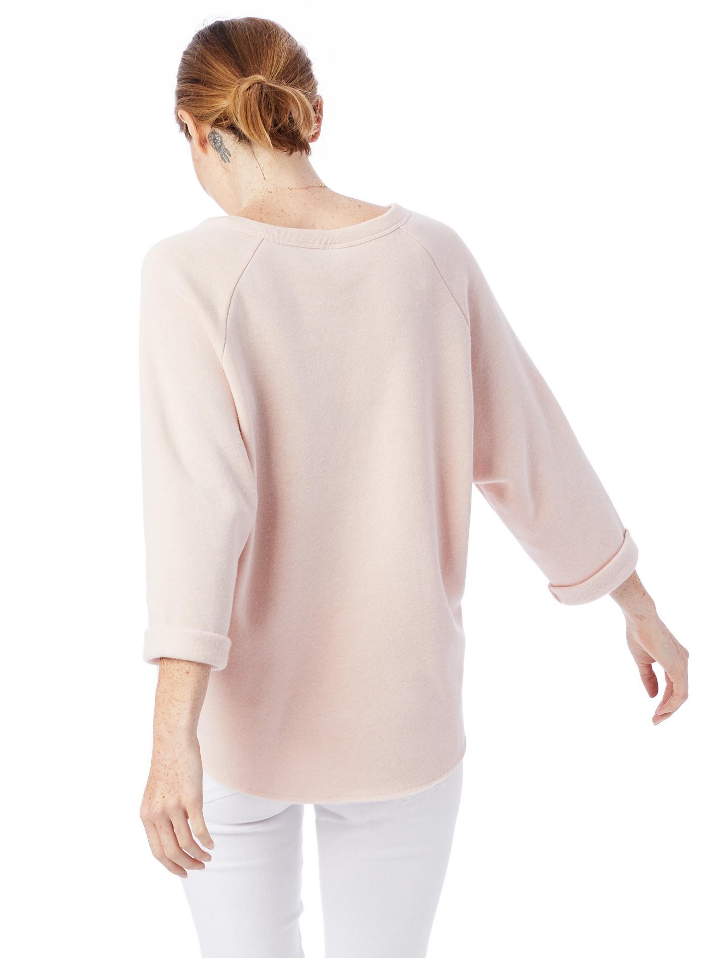Champ Remix Eco-Fleece Sweatshirt in Eco Peach (2).jpg