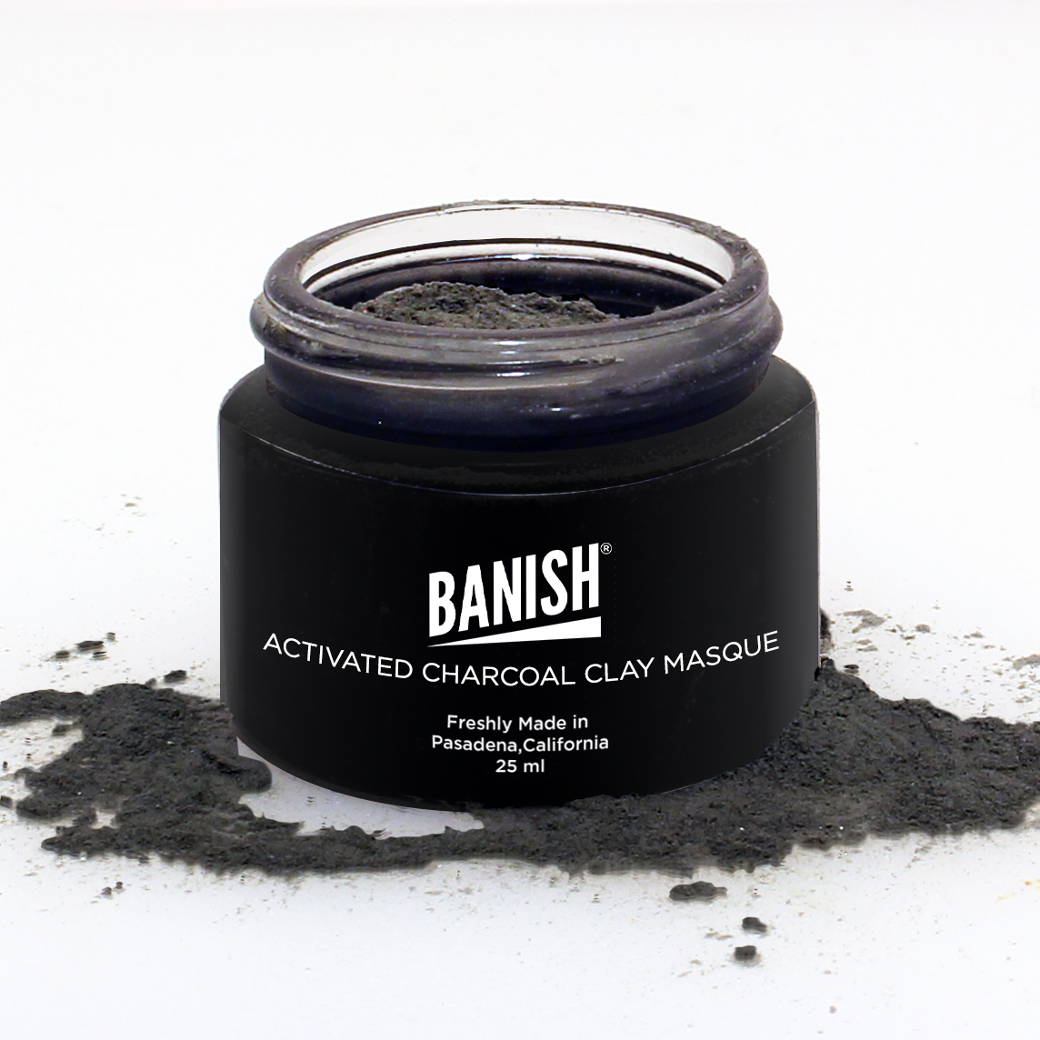 Activated Charcoal Clay Masque
