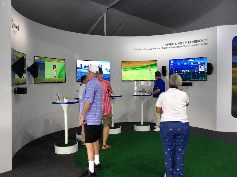 Samsung Experience @ PGA Championship 2014