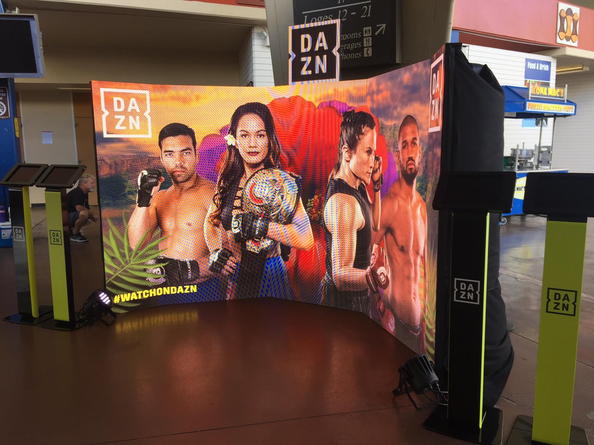 DAZN Honolulu Bellator Fight