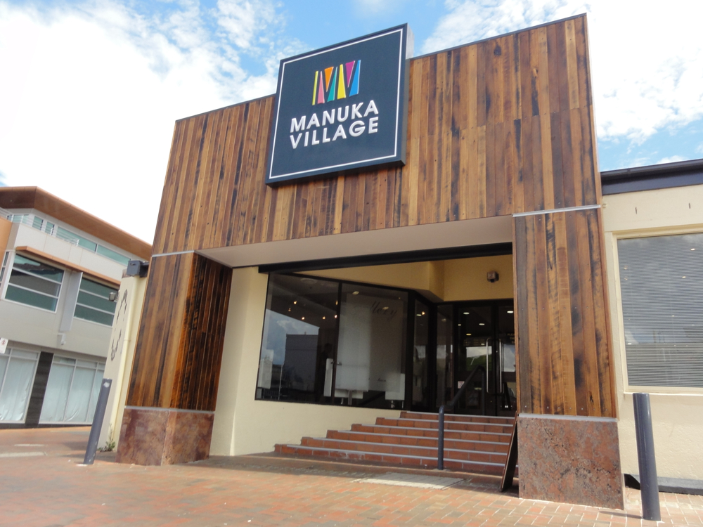 Manuka Centre Blackbutt Cladding