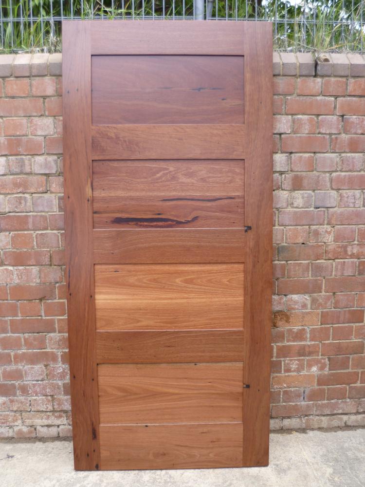Horizontal Panel Door