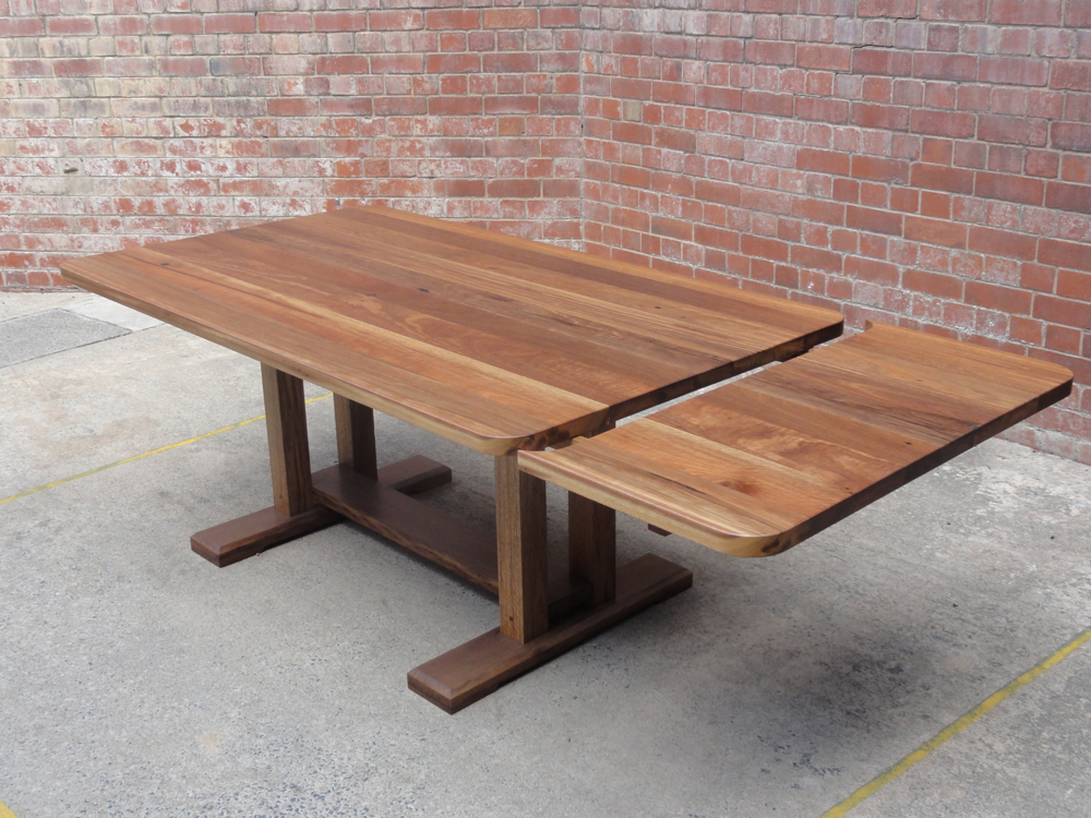 Refectory Table with Extension Leaf
