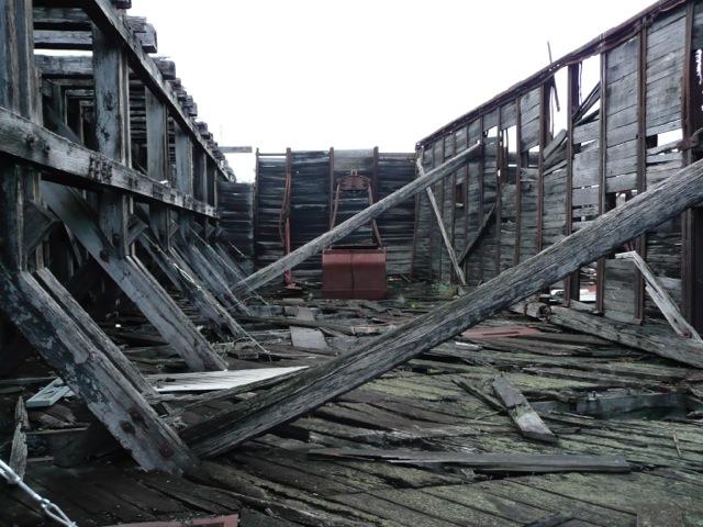 Old Coal Bunker - Ironbark Beams