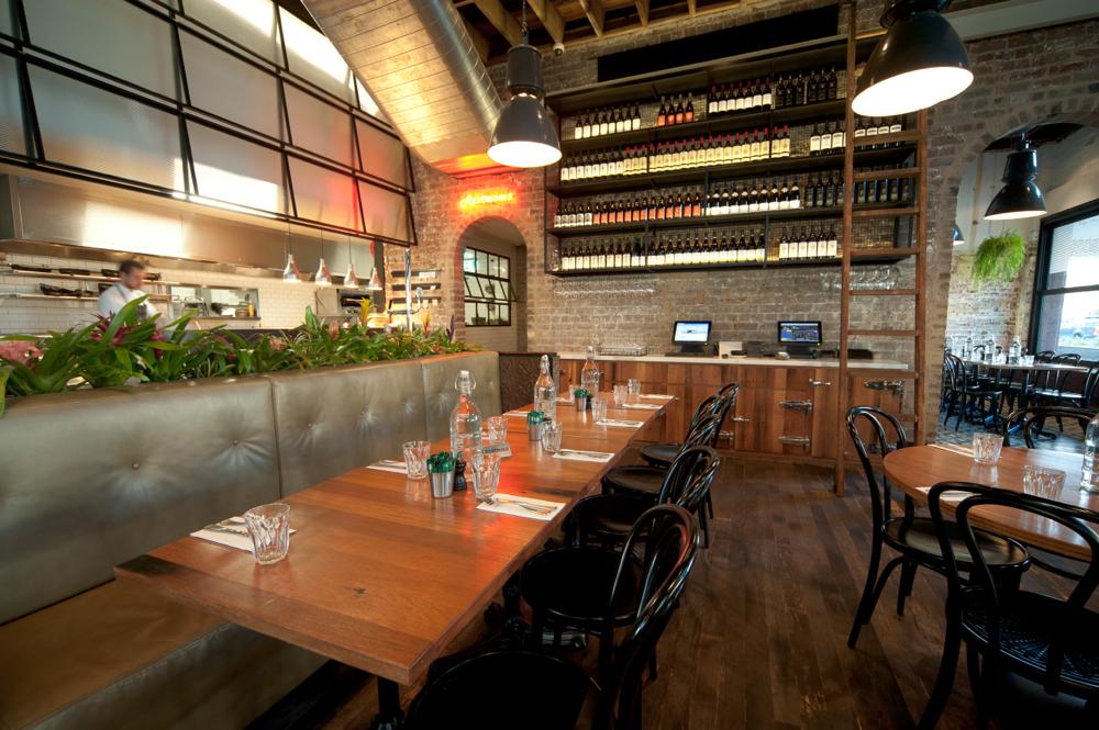 Restaurant Tables in Recycled Blackbutt