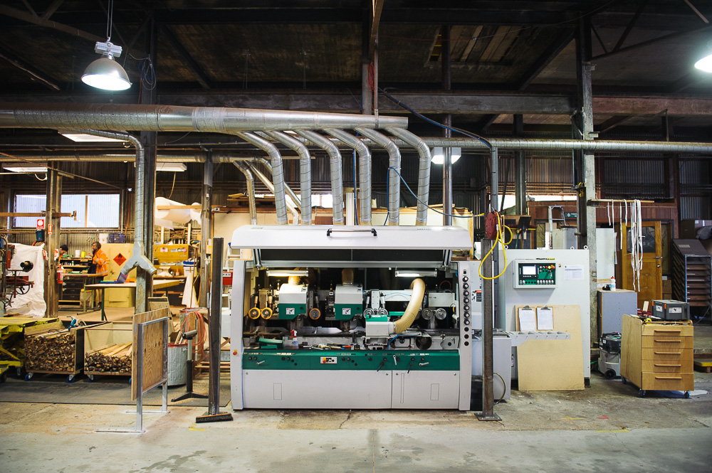 Our new state of the art, German Weinig Unimat 518 moulder has just arrived