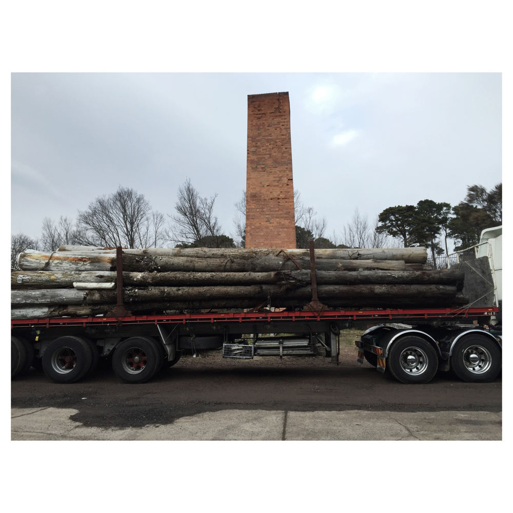 Turpentine posts salvaged from the Batemans Bay Marina. These posts are strong, dense and durable. They can be supplied as is or sawn to your requirements.