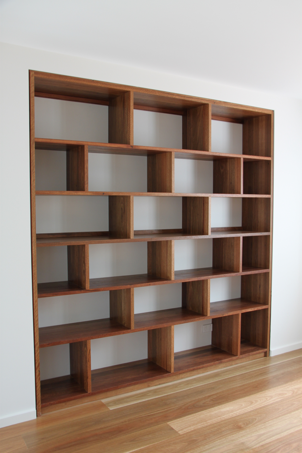 Recycled Spotted Gum Library