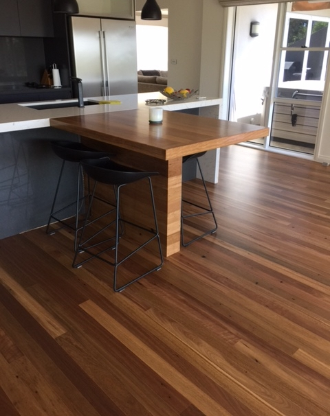 Remilled Spotted Gum Flooring